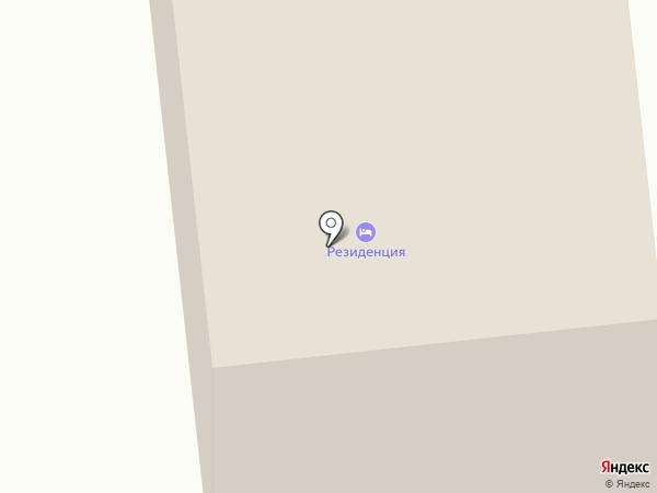 Резиденция на карте Усть-Качки