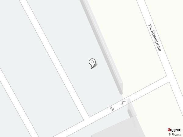 Автостоянка на карте Краснокамска