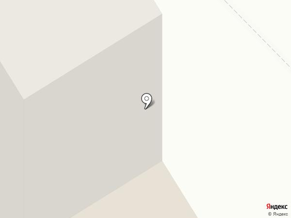 Круг на карте Краснокамска