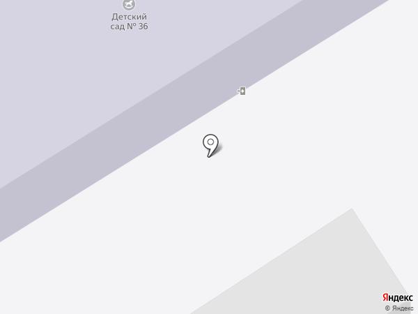 Детский сад №36 на карте Краснокамска