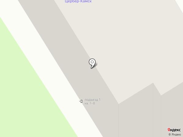 Цитадель-Плюс на карте Краснокамска