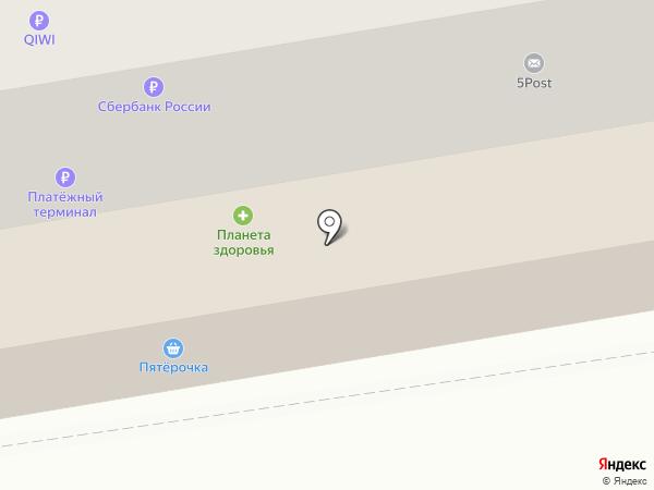 Лион на карте Краснокамска