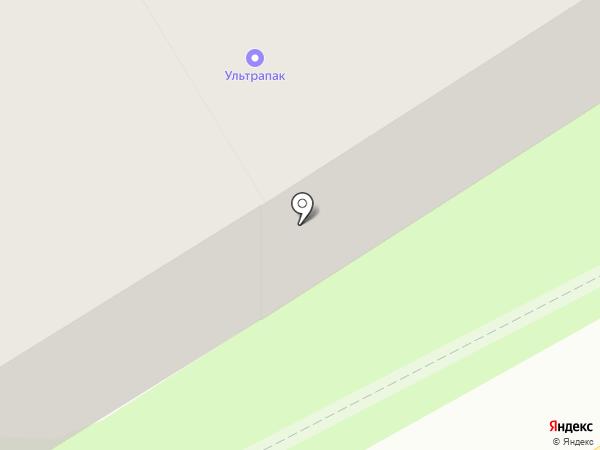 Ультрапак на карте Краснокамска