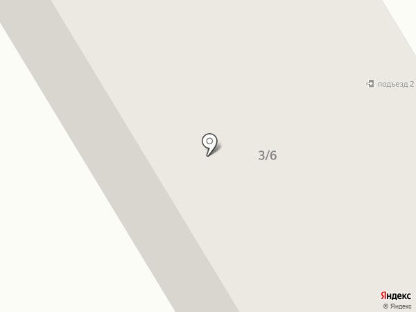Компас на карте Краснокамска