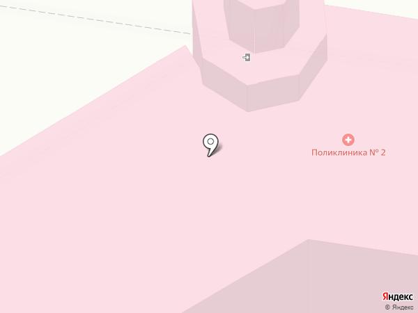Краснокамская центральная районная поликлиника на карте Краснокамска