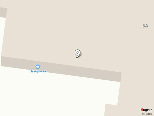 Продовольственный магазин на карте Краснокамска