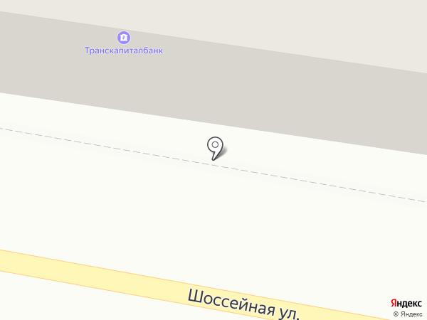 Транскапиталбанк, ПАО на карте Краснокамска