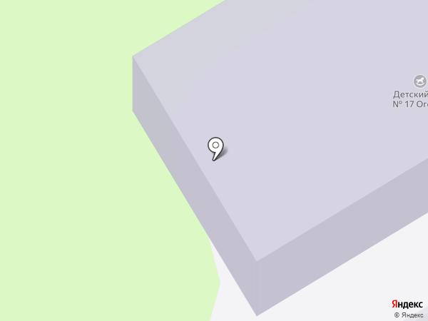 Детский сад №17 на карте Краснокамска