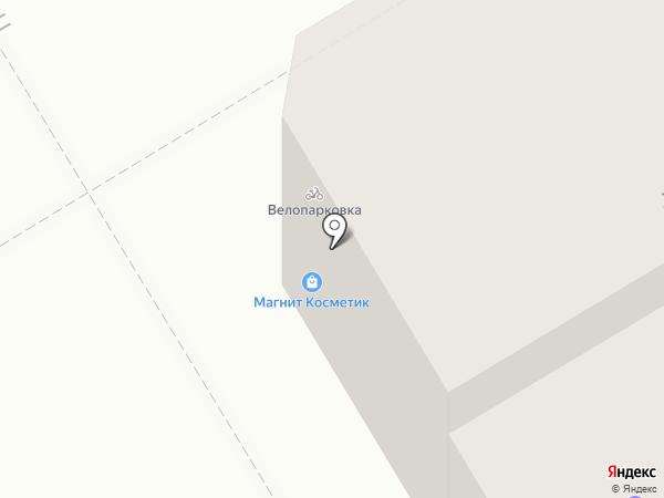 Норман на карте Краснокамска