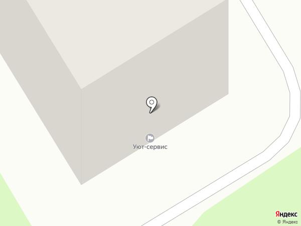 Уют-Сервис на карте Краснокамска