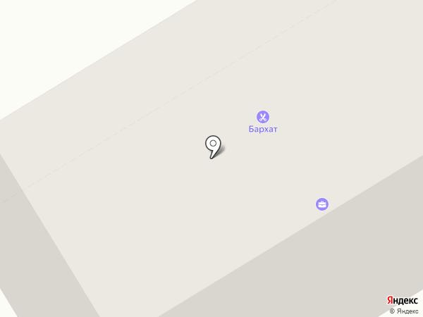 Бархат на карте Краснокамска