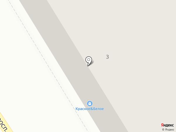 Меховой салон на карте Краснокамска