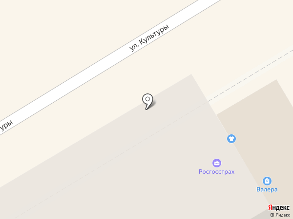РОСГОССТРАХ Банк, ПАО на карте Краснокамска