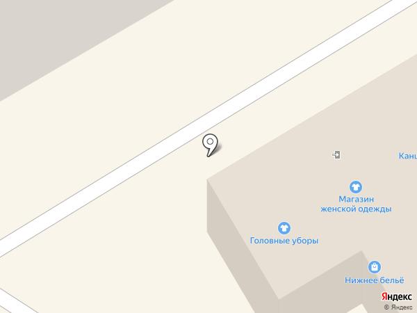 Магазин головных уборов на карте Краснокамска