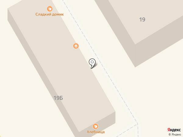 Бирюльки плюс на карте Краснокамска