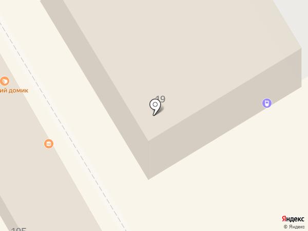 Находка на карте Краснокамска