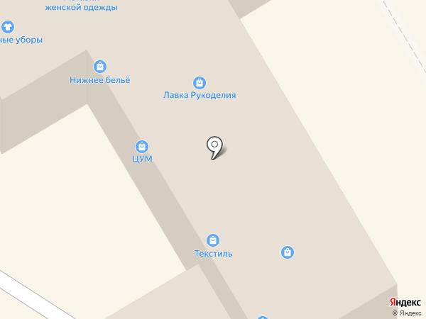 Уральский сад на карте Краснокамска