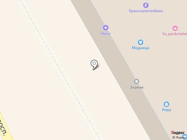 Сатурн-Интернет на карте Краснокамска