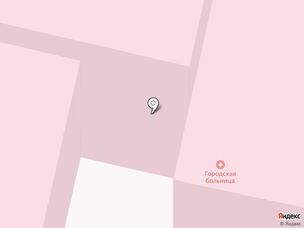 Краснокамская городская больница на карте Краснокамска