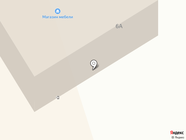 Мебельный дом на карте Краснокамска