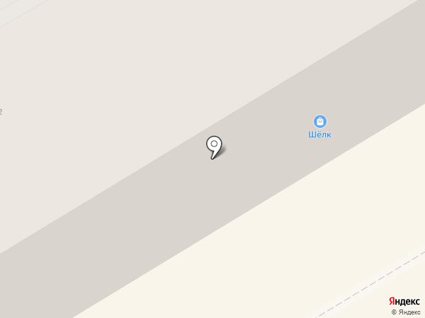 Шёлк на карте Краснокамска
