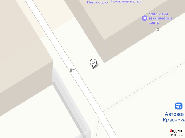 Промагрофонд, ЗАО на карте Краснокамска