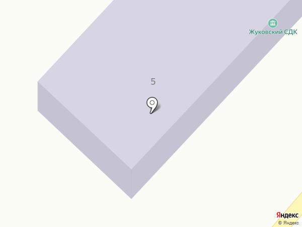 Жуковская сельская библиотека №3 на карте Жуково