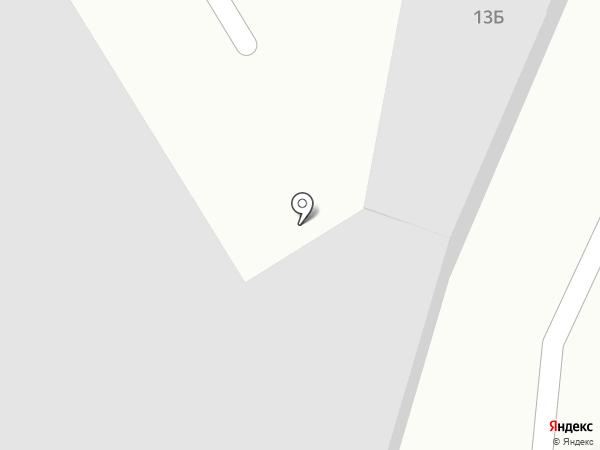 Мастерская авторемонта на карте Краснокамска