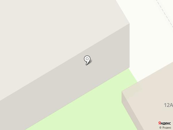 Батэль на карте Краснокамска