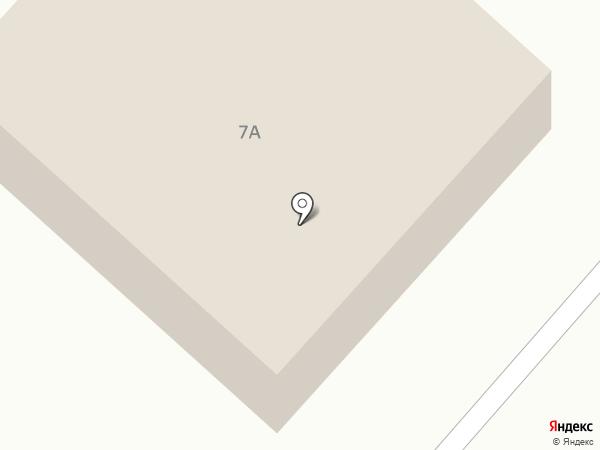 Бригантина на карте Жуково