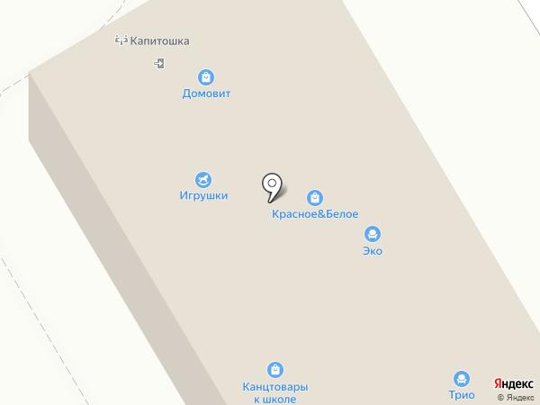 Афина на карте Краснокамска