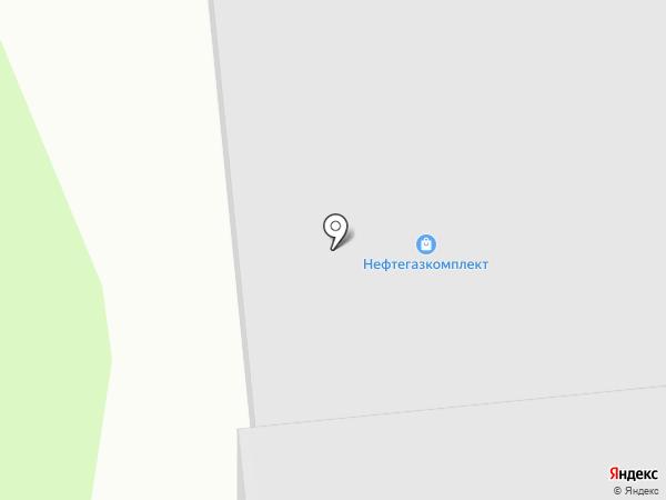 НефтеГазКомплект на карте Краснокамска
