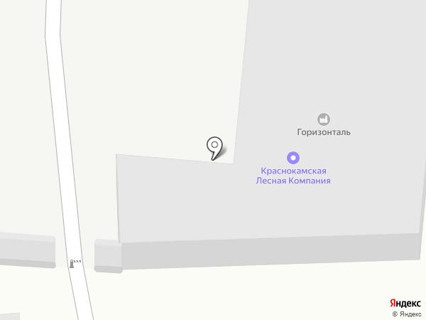 Краснокамская лесная компания на карте Краснокамска