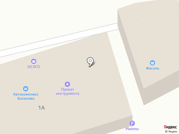 Автоцентр на карте Уфы