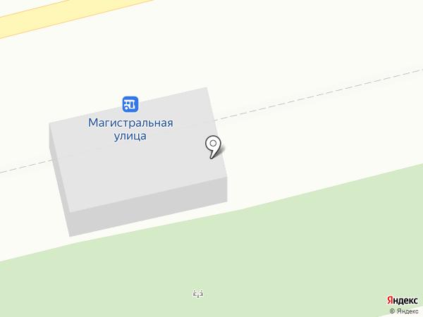 Магазин овощей и фруктов на карте Уфы