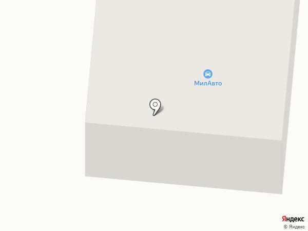 Автотехника на карте Миловки