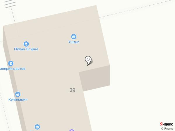 Манушак на карте Уфы