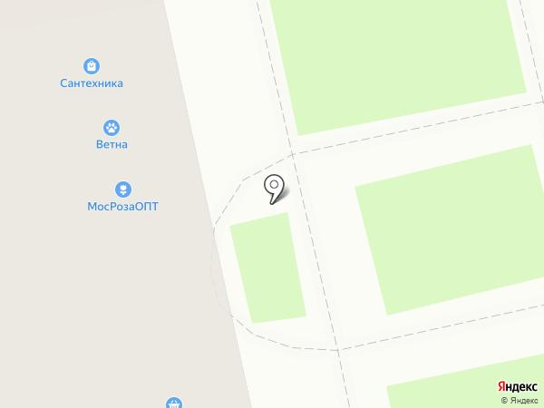 Эконом-маркет на карте Уфы