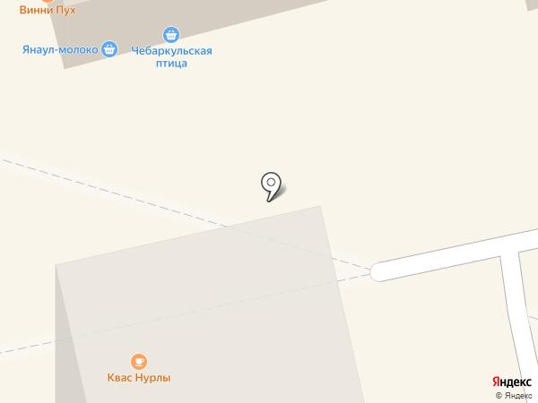 Элекснет на карте Уфы