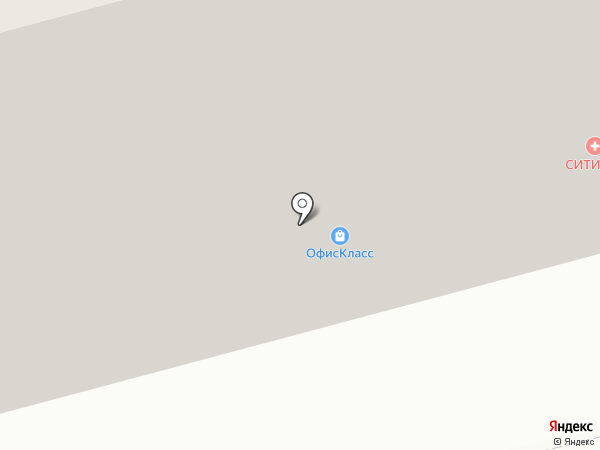 Офис-Класс на карте Уфы