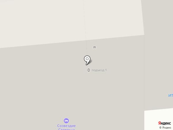 Пункт проката на карте Уфы