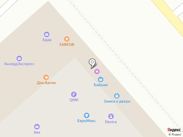 УфаПрокат на карте Уфы