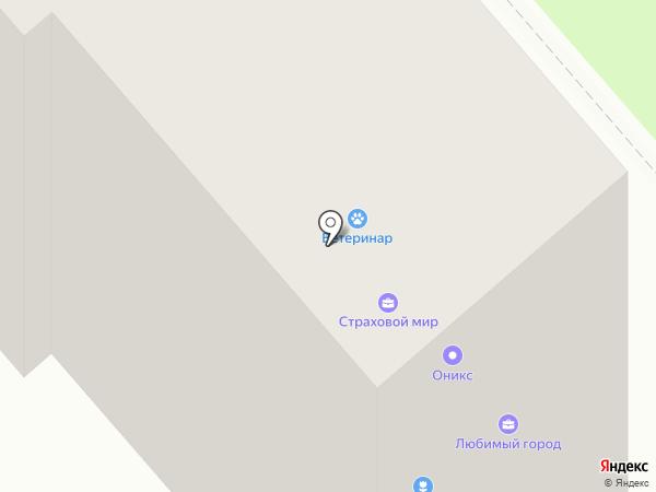 Ветеринар на карте Уфы