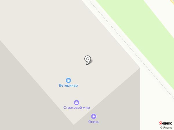 Парус на карте Уфы
