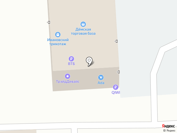 Уфа-Сласть на карте Уфы