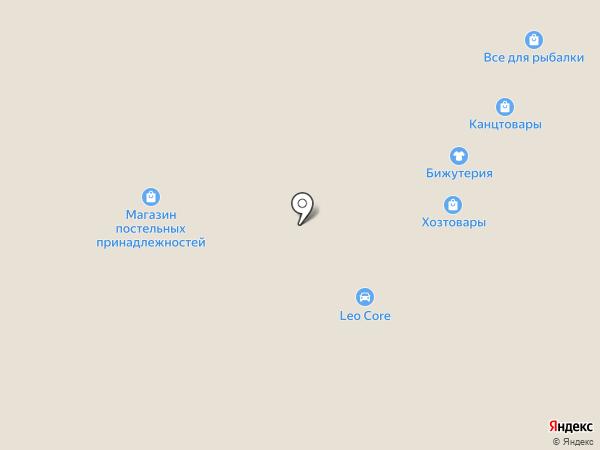 Магазин одежды на карте Уфы