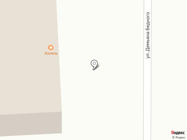 Парикмахерский салон на карте Уфы