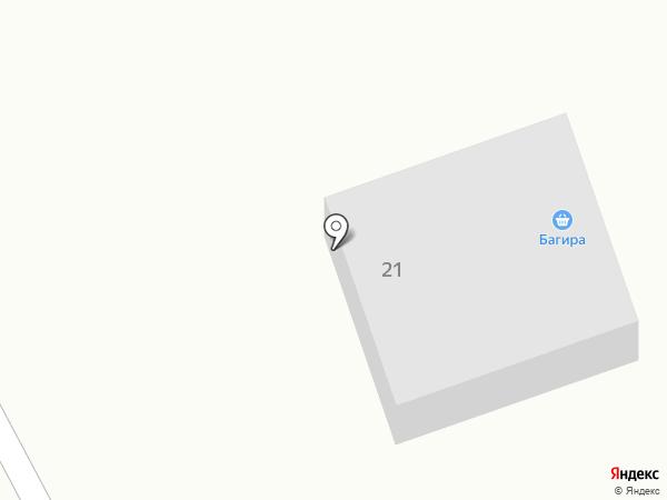 Багира на карте Нижегородки