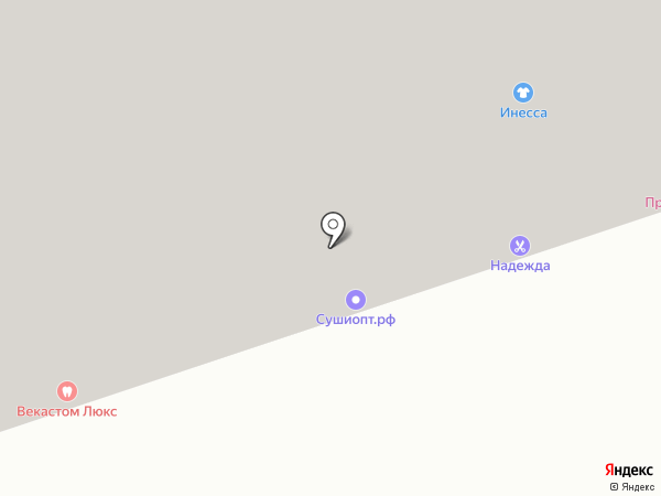 ВЕКАСТОМ ЛЮКС на карте Уфы