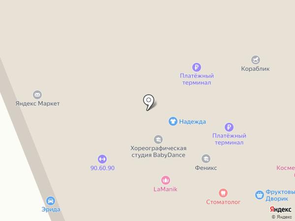 Игренок на карте Уфы